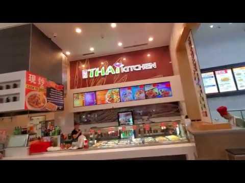 Westfield Santa Anita Arcadia CA Food Court The Cheesecake Factory Bowlero Dave & Buster's AMC