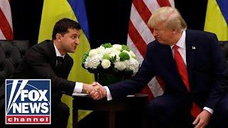 Ukrainian president backs Trump: 'Nobody pushed me' to probe Biden
