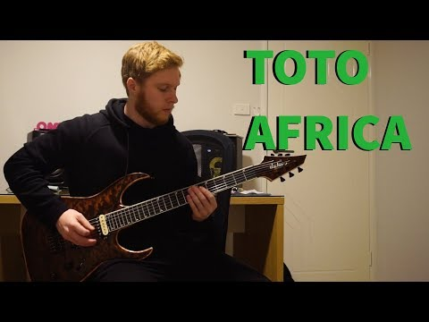 Toto - Africa (Weezer) Guitar Cover