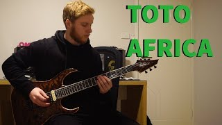 Toto - Africa (Weezer) Guitar Cover Video
