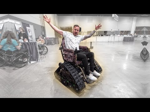 Trying All The New Wheelchair Technology At The Chicago Abilities Expo!