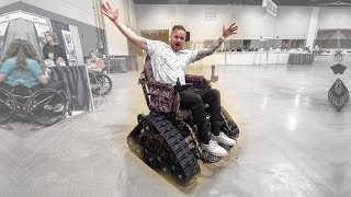 Download Trying All The New Wheelchair Technology At The Chicago Abilities Expo! Mp3 and Videos