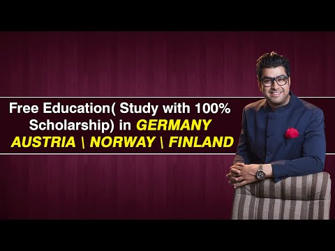 Episode 22- Free Education( Study with 100% Scholarship)in Germany 🇩🇪 Austria 🇦🇹Norway 🇳🇴Finland 🇫🇮