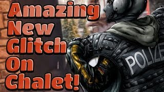 [OP] INSIDE THE WALL GLITCH ON CHALET! [AFTER PATCH] - Rainbow Six Siege