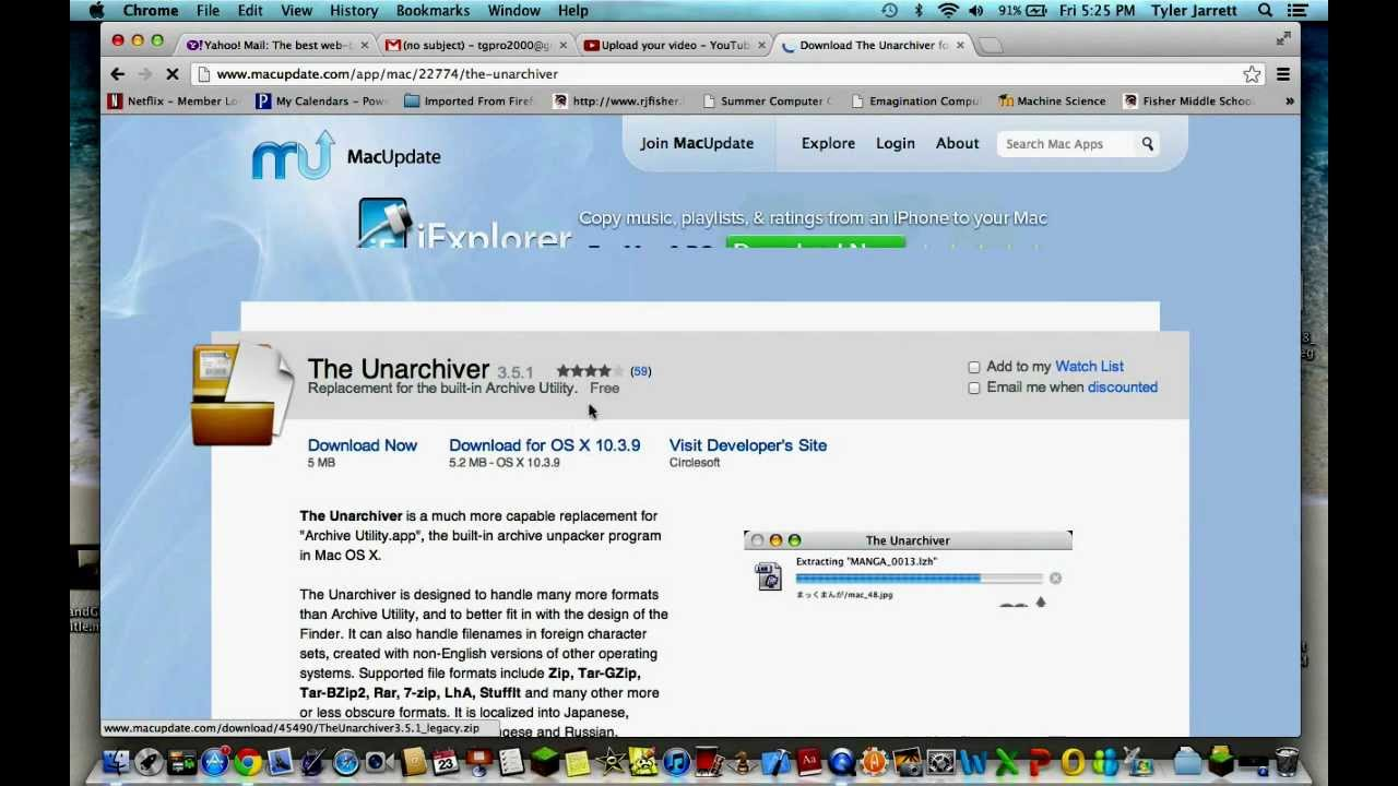 How To Download The Unarchiver app For Free