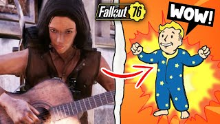 Fallout 76 | What Happens if You Sleep in Bed With the Musician at Your Camp? (Fallout 76 Secrets)