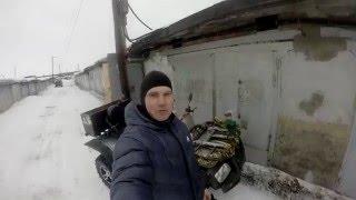 как рвутся гранаты на квадроцикле! снежный экстрим 2016(как я порвал внутреннюю гранату на соревнования подготовленных внедорожников