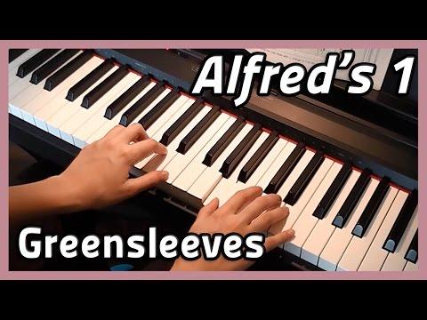 ♪ Greensleeves ♪ Piano  Alfreds 1