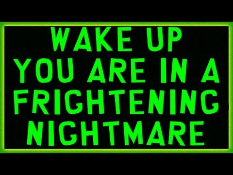 'Wake up you are in a frightening Nightmare' Chemtrails and Radiation fall out.