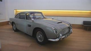 El Aston Martin de James Bond en