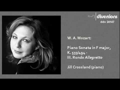 Mozart - Piano Sonata K.533/494 by Jill Crossland