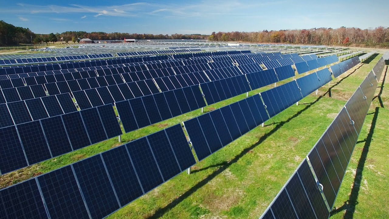Amazon Solar Farms Us East Youtube