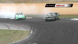 DARREN MCNAMARA  vs VAUGHN GITTIN  During Top 32 in Atlanta Formula Drift Round 2 (2012)