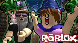 ROBLOX ADVENTURES - WIZARD TYCOON - BUILDING OUR OWN HOGWARTS?!