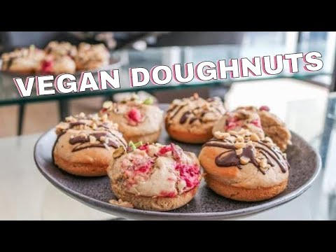 healthy-vegan-doughnut-recipe-//-easy-to-make-delicious