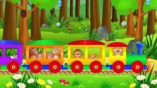 Pociąg do Warszawy - muzyka z teledyskiem dla dzieci zestaw piosenek
