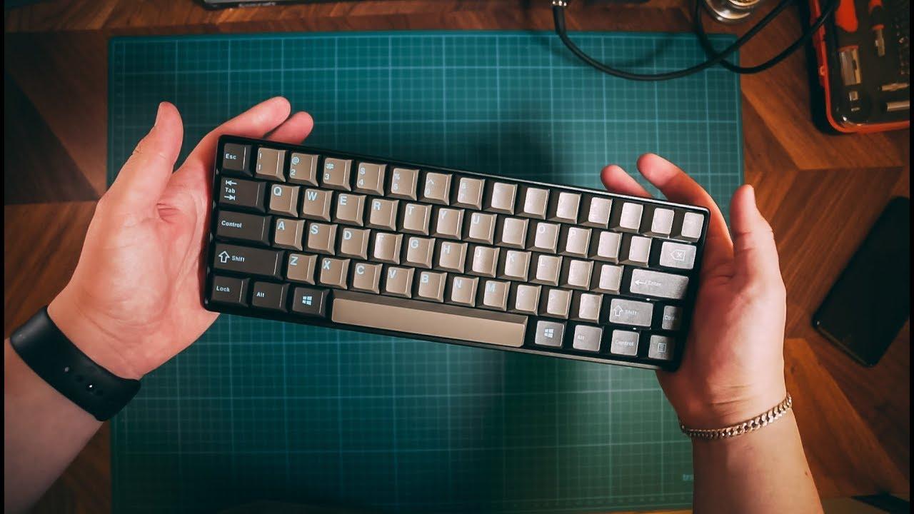 618caa96acc 60% Mechanical Keyboard Build - YouTube