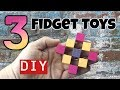 3 NEW DIY FIDGET TOYS - HOW TO MAKE EASY TOYS - DIY TOYS FOR KIDS TO MAKE