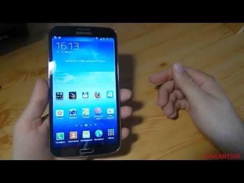 Samsung Galaxy Mega 6.3 Обзор Тестирование Игры