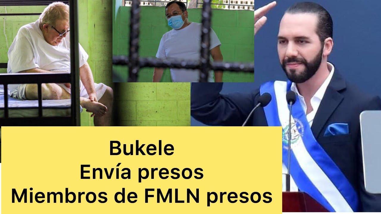 Primeras fotos de miembros de FLMN presos en mariona