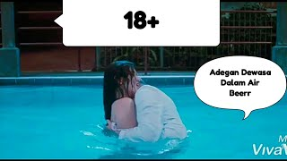 Adegan HOT Ciuman Dalam air Film Indonesia Ayushita