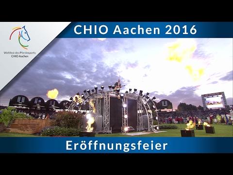 Spektakuläre Eröffnungsfeier des CHIO Aachen 2016