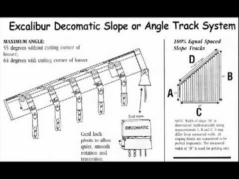 Vertical Blind Installation IV - YouTube
