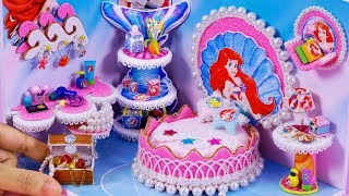 DIY Miniature Dollhouse Bathroom ~ Ariel Room Decor #37