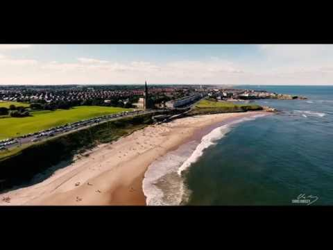 Whitley Bay and Tynemouth (Epic 4k Drone Video)