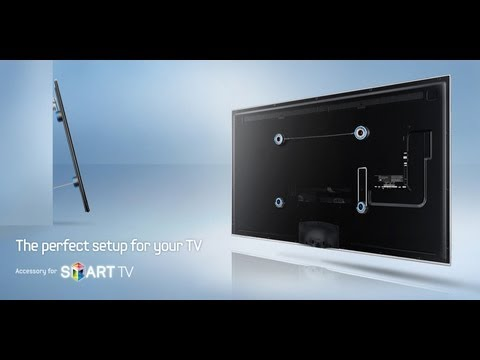 Samsung WMN2000B Ultra Slim Wall Mount  (unboxing & installation)