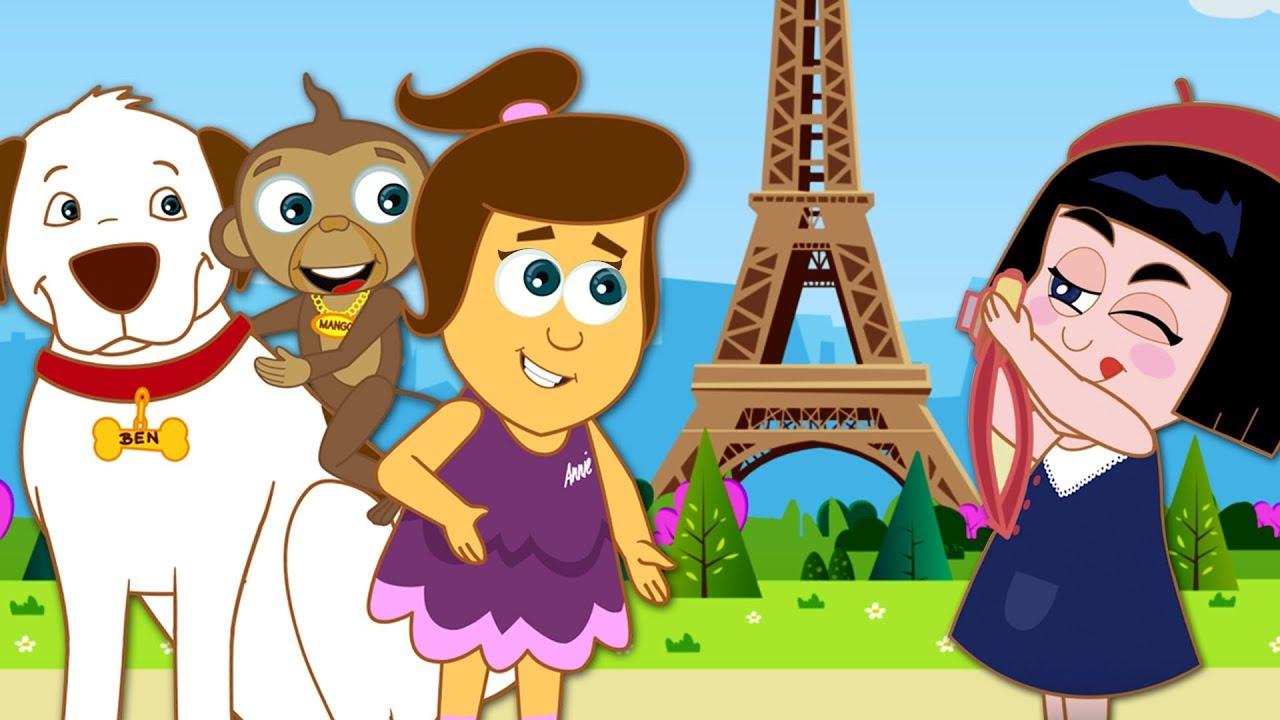 As Aventuras De Annie E Ben Episodio 7 Mango Eiffel Desenho