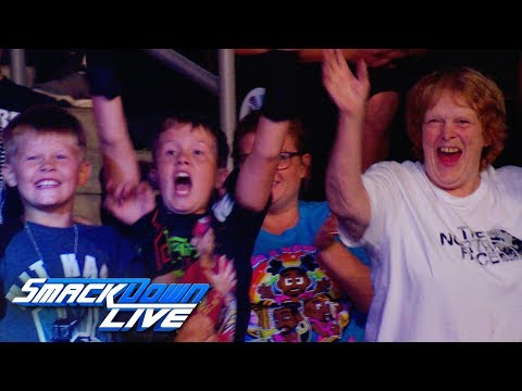 """""""Dance Break"""" time in Sioux Falls, S.D.: SmackDown Exclusive, Aug. 20, 2019"""