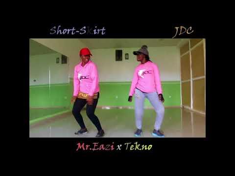 Short skirt by Mr.Eazi x Tekno