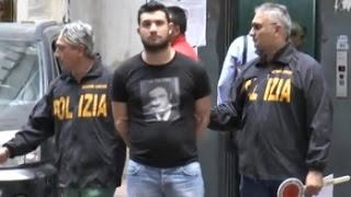 Lusciano (CE) - Camorra, arrestato latitante degli Scissionisti -1- (22.10.14)