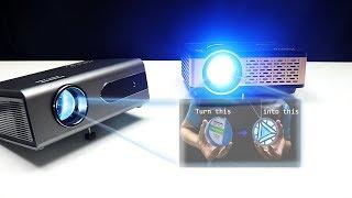 Portable Home theater projectors - Xiaoya projectors + Giveaway