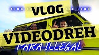 KING KHALIL feat. LIL LANO - PARA ILLEGAL - VLOG Videodreh mit dem G500 4x4😱