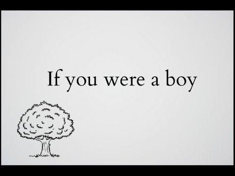 R. Kelly - If You Were a Boy • Lyrics