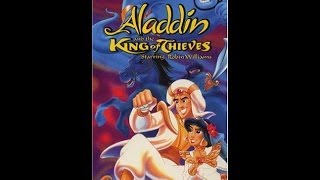Closing To Aladdin And The King Of Thieves Uk Vhs 1997