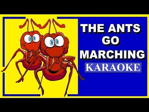 The ants go marching Karaoke