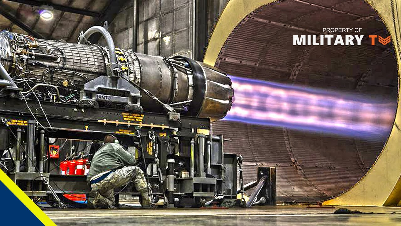General Electric F110 Afterburning Turbofan Jet Engine | F-16 Fighting Falcon