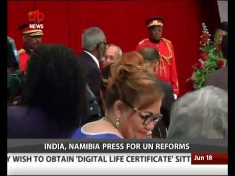 2 MoUs signed between India and Namibia