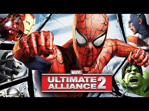 MARVEL: ULTIMATE ALLIANCE 2 All Cutscenes (Game Movie) 1080p 60FPS