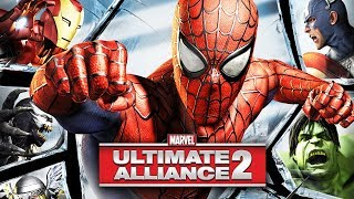 MARVEL: ULTIMATE ALLIANCE 2 All Cutscenes (Game Movie) 1080p 60FPS