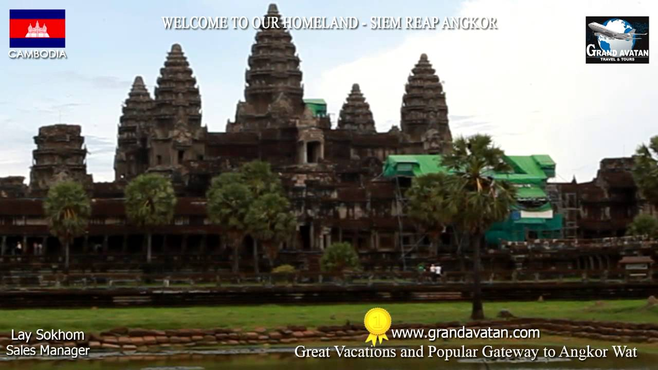Angkor Travel 1080HD - Best of The Best Angkor Wat Temple (Part I).