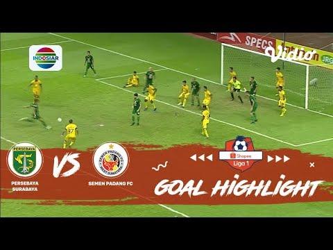 Highlight Persebaya vs Semen Padang | Bajul Ijo Harus Rela Berbagi Poin