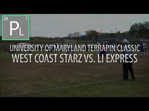 West Coast Starz Vs. LI Express - Maryland Terrapin Classic | Lacrosse Highlights