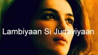 Lambiyaan Si Judayiyaan || Arjit Singh || Raabta || Sajda Tera kar na sakoon
