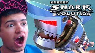 Hungry Shark Evolution | NEW ROBO SHARK! | Hungry Shark Evolution Buying New Special Sharks!