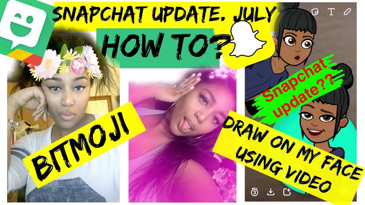 how to add bitmoji to snapchat