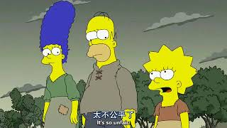 simpsons S29 EP1  with both english & chinese subtitle 辛普森 第二十九季 第一集 中文字幕1/5